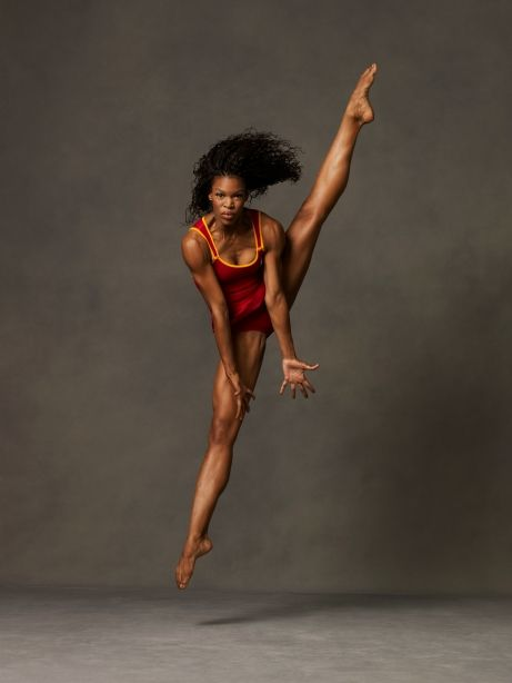Alvin Ailey American Dance Theater's Briana Reed. Photo by Andrew Eccles