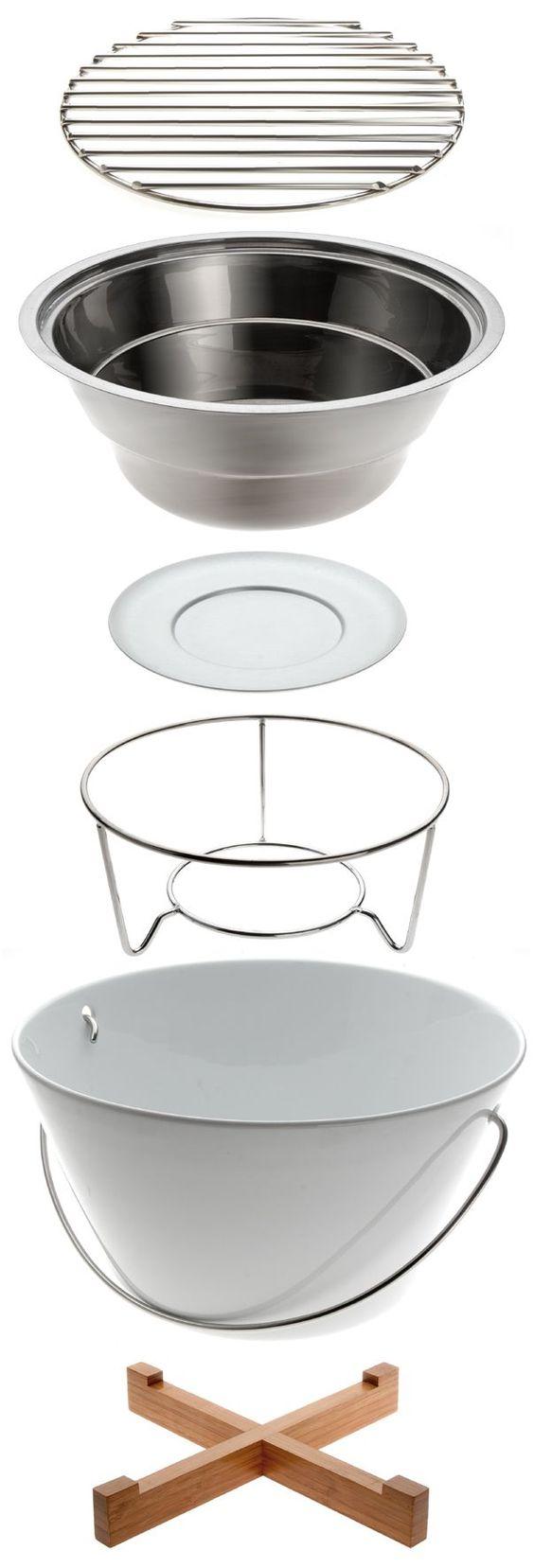 Invite a tus huéspedes para cocinar su propia comida o tapas. Ya sea en la mesa, en la playa o en el parque. Con el Table Grill de Eva Solo es fácil.  http://www.nordika.mx/table-grill-blanco.html