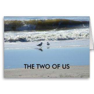 THE TWO OF US-WISH U HAPPY BIRTHDAY GREETING CARD