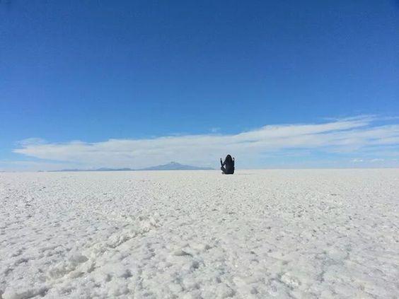 Salt Desert - Salar de Uyuni - Bolivia