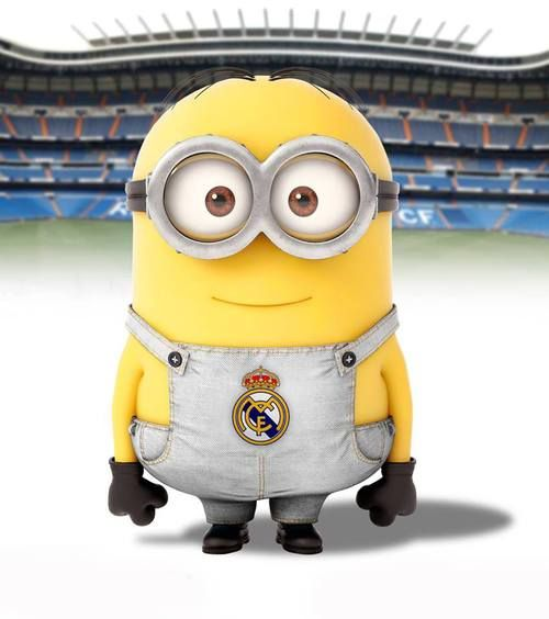 minion real madrid