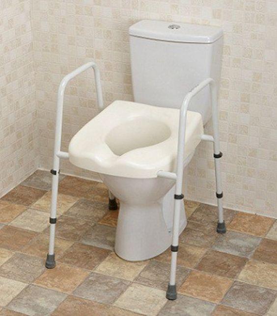 Toilets toilet seats and bathroom on pinterest for Bathroom ideas 9x6