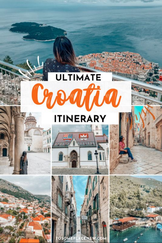 Ultimate 7 Days In Croatia Itinerary You Should Steal In 2020 Croatia Itinerary Croatia Travel Travel Photography