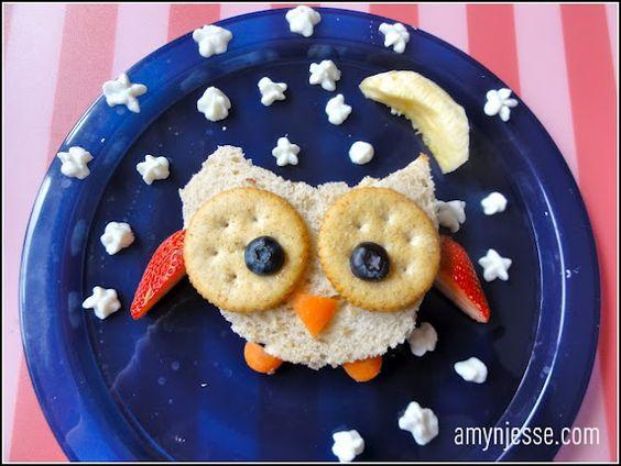 Friendly Owl lunch