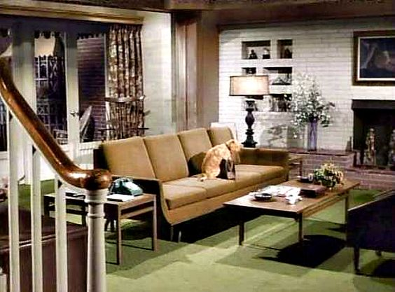 Mid Century Modern -- Bewitched Living Room