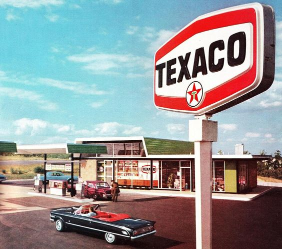 1964 Texaco Gas Station Matawan New Jersey Matawan