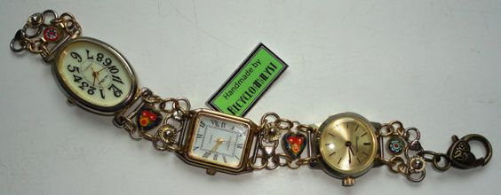 Recycled Reclaimed Vintage Watches With Working by Recycloanalyst, £25.00