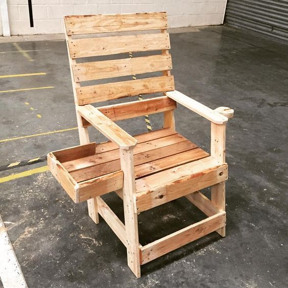 55 Diy Pallet Chairs Design Ideas That You Can Try Matchness Com Diy Furniture Chair Pallet Chair Diy Chair
