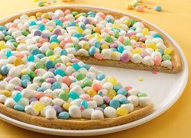 Spring Cookie Pizza: Pizza Recipe, Dessert Pizza, Cookie Pizza, Easter Treats, Easter Dessert