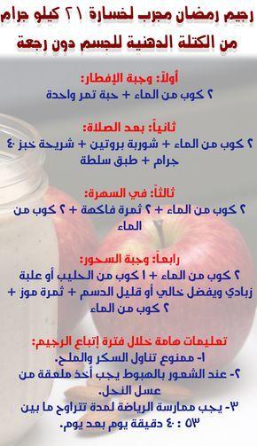 رجيم سريع في رمضان Ramadan Diet Health Fitness Nutrition Diet And Nutrition
