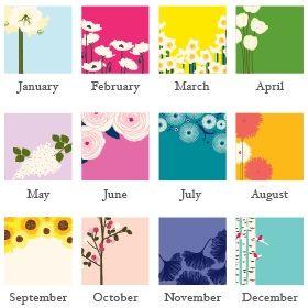 Mini Calendar - Snow & Graham