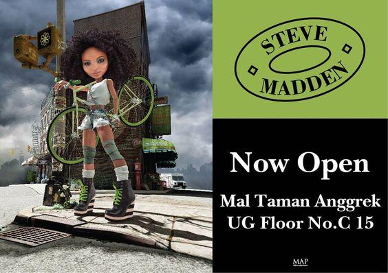 Steve Madden NOW OPEN Mal Taman Anggrek, Jakarta! | New Store Openings |  Pinterest