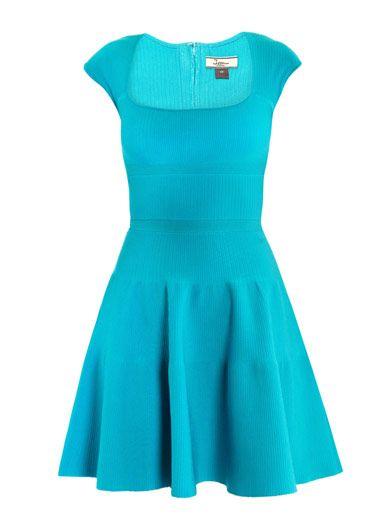 Square-neck dress