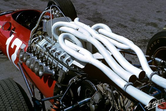 1967 F1 Ferrari Engine, just look at the hand work of the ...