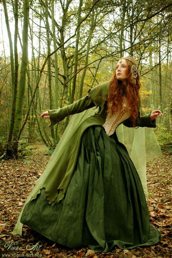 corseted elf dress