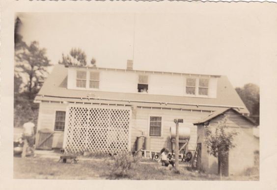 House were Mama grew up in (Plymouth, NC!)