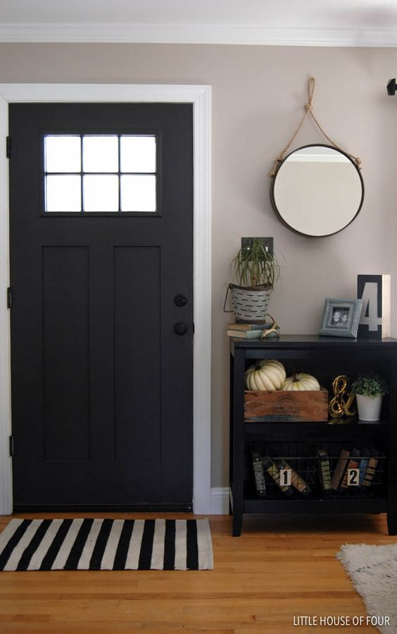 Front doors entryway and house on pinterest for Entryway into living room ideas