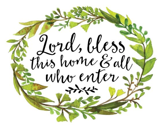 Lord, bless this home and all who enter  We don't always know everyone's battle, however, Jesus does. Sometimes all we need is a simple prayer displayed as a reminder to ask the Lord for His blessing. #lordblessthishome: