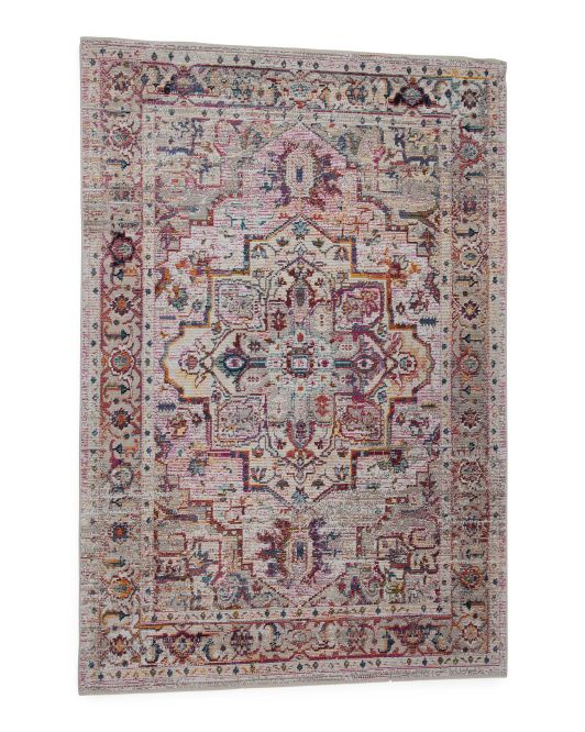 Made In Turkey 5x7 Printed Flat Weave Area Rug Living Room T J Maxx Loloi Rugs Rugs Natural Rug