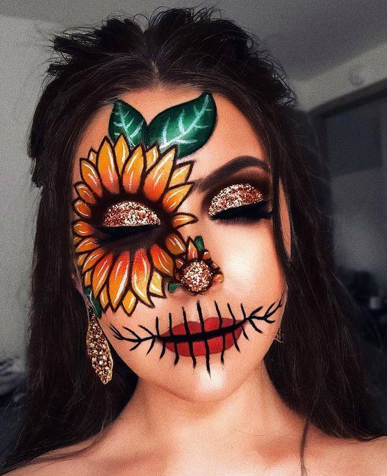 Halloween 2020 Makeup 2020 halloween special makeup models 15 #halloween #2020halloween