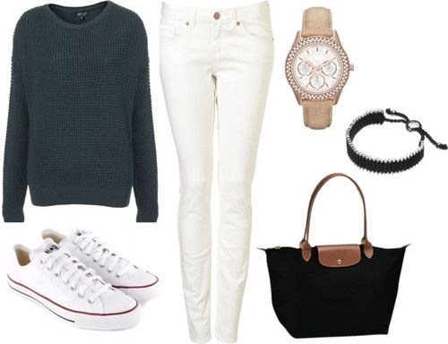 Tumblr Outfits with Skinny Jeans White | outfit featuring white ...