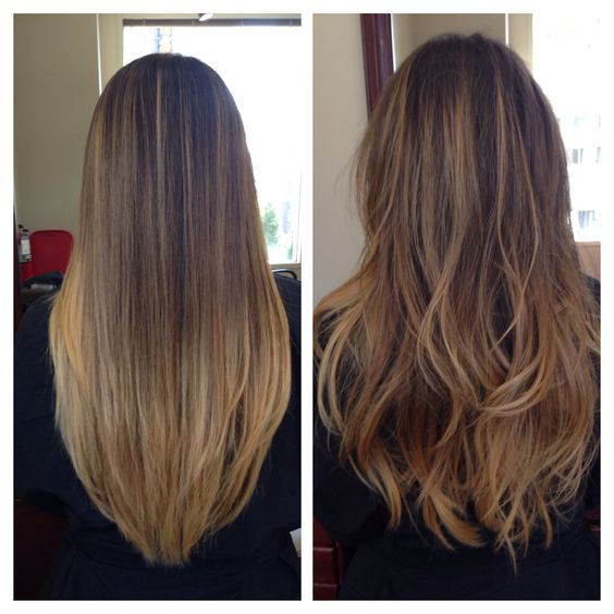 Ombre color!