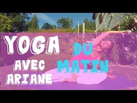 cours de yoga avec ariane quickie du matin youtube yoga pinterest montres yoga et. Black Bedroom Furniture Sets. Home Design Ideas