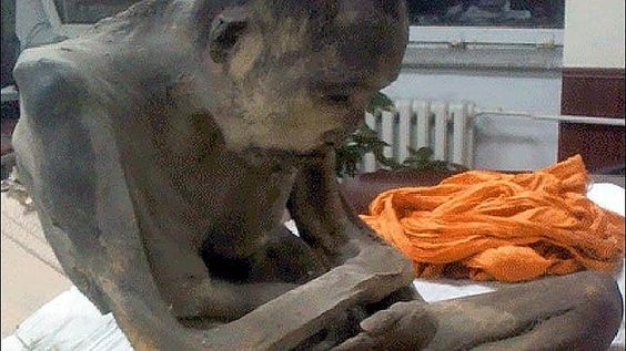 La momia que medita en posición de loto desde hace 200 años