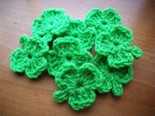 Free Crochet Pattern For 3 Leaf Clover : Pinterest The world s catalog of ideas