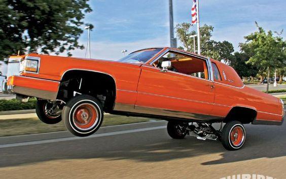 1981 Cadillac Fleetwood Brougham - Lowrider Magazine Photo 03