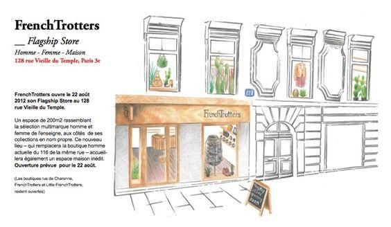 FRENCH TROTTERS ouvre son flagship store à Paris!!!