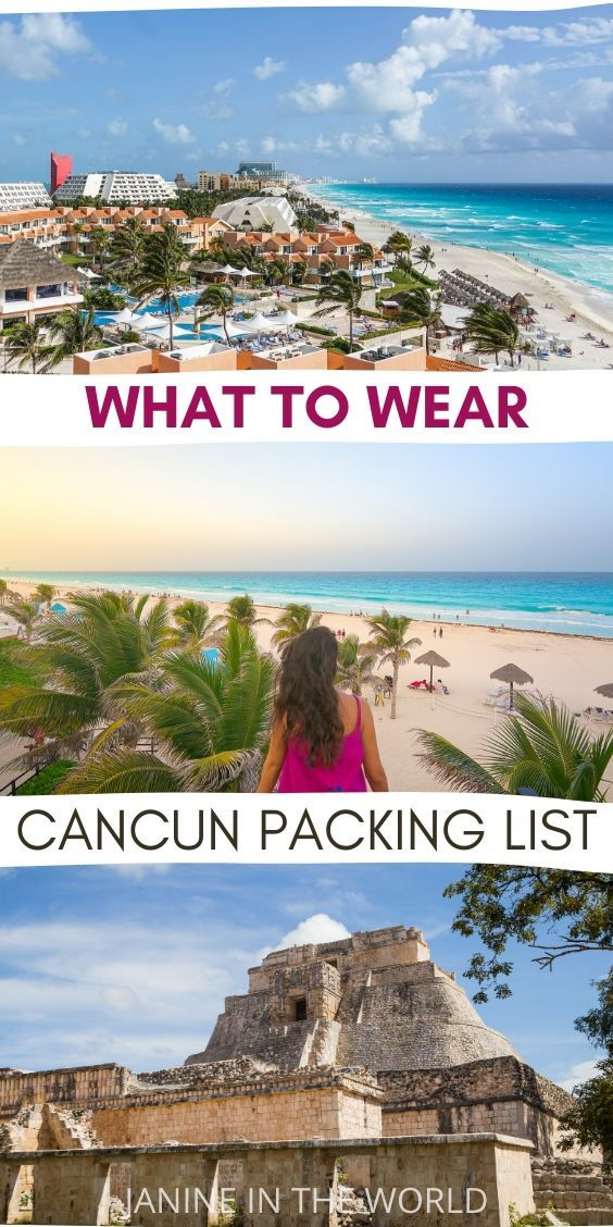 Cancun Vacation After Christmas 2020 What To Pack For Cancun, Mexico in Your Carry On – Janine In the