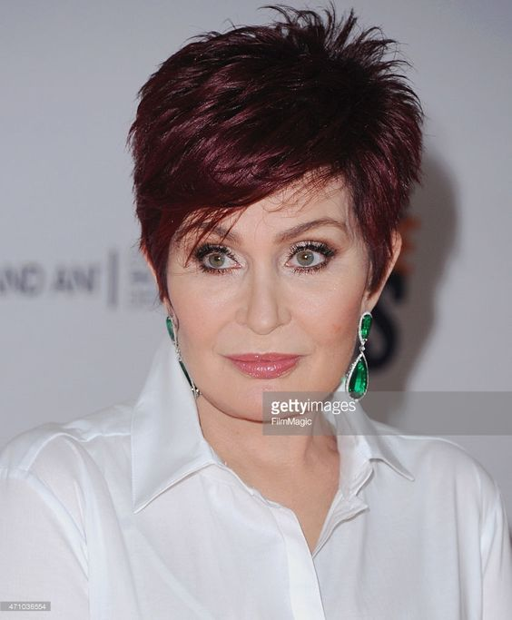 Sharon Osbourne arrives at the 22nd Annual Race To Erase MS at the Hyatt Regency Century Plaza on April 24, 2015 in Century City, California.