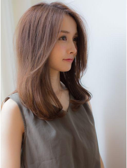 バイオレット 表参道店 Violet Violet 前髪なしセミロング