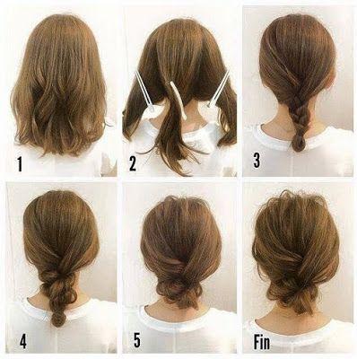 37+ Coiffure pour noel facile cheveux court inspiration