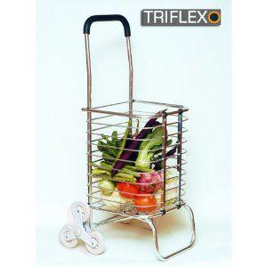 Triflexo Alu Shopper Einkaufswagen Einkaufstrolley X3
