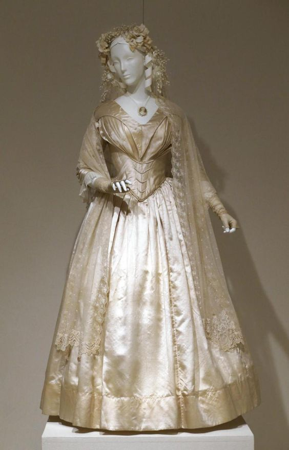vintage wedding dresses 1800s design basic 9 on cake