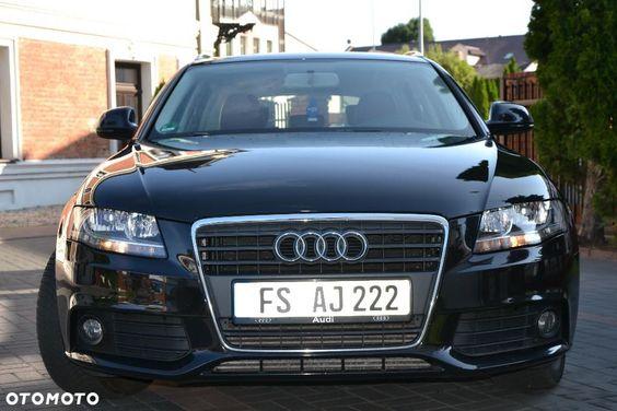 Audi A4 Samochody Osobowe Otomoto Pl