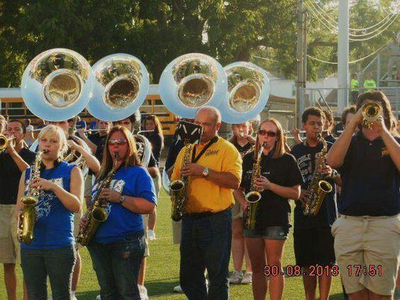 Alumni saxophones