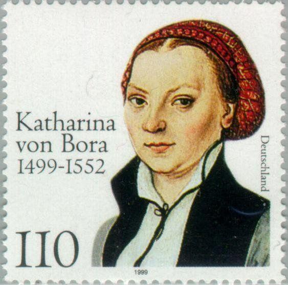 500th Birth Anniv Of Katharina Von Bora Postage Stamps Germany