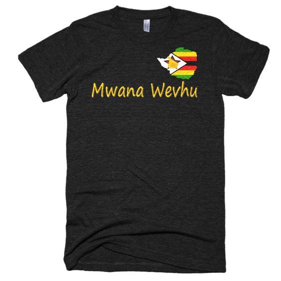 Mwana Wevhu Short sleeve soft t-shirt