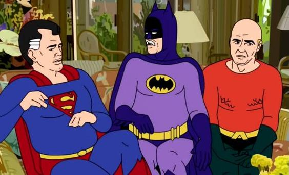 supergoldenfriends - Golden Girls Meets Batman & the Super Friends