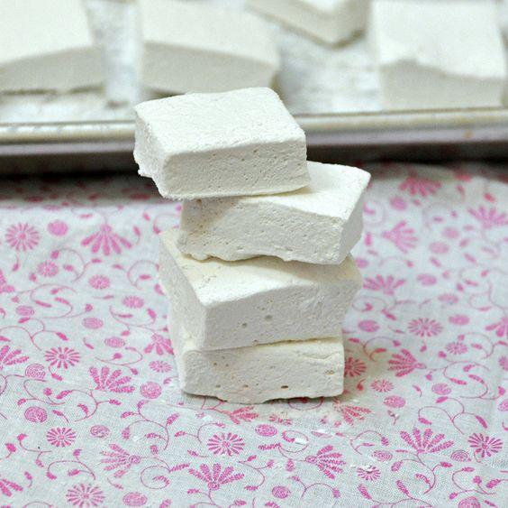 Homemade marshmallows.....the taste is sosososo much better,