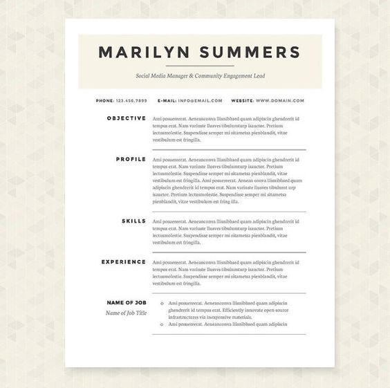 Personalized Stationery Paper Source resume references available