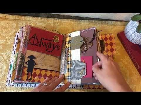 Hogwarts Harry Potter Junk Journal Travelers Book Youtube In 2021 Harry Potter Scrapbook Harry Potter Journal Harry Potter Diy