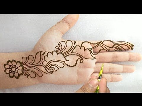 mehndi easy and beautiful