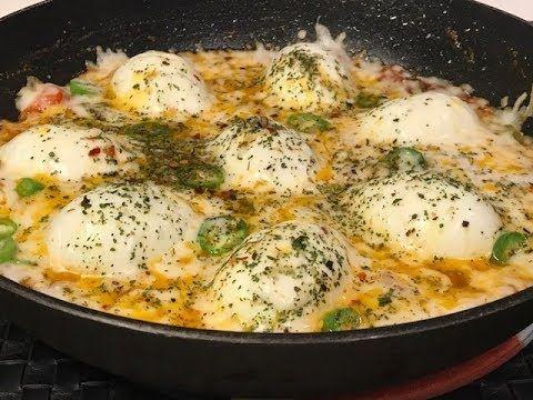 1 بيض مسلوق بالجبن صحي وجد لذيذ Boiled Eggs With Cheese Youtube Cookout Food Food Receipes Arabic Food