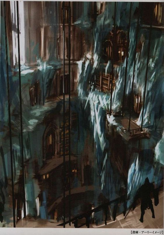 Dark Souls Concept Art - Duke's Archives Concept Art