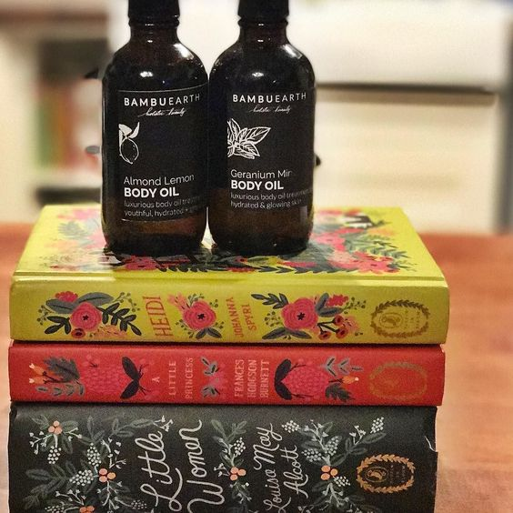 All I want for Valentine's Day is more classics for my collection and body oil from Bambu Earth! {Enter BEmine at checkout for 30% off! TODAY ONLY! If you've been waiting to order today is your day!} #classicbooks #bookcollection #bambubeauty #naturalbeautyproducts