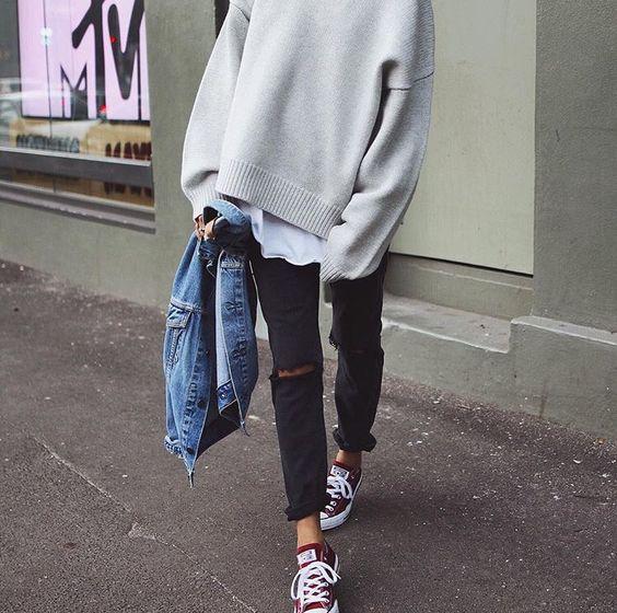 Pepa Mack | lee jeans | bassike | converse: